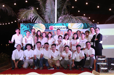 Celebrating the 1 Year Anniversary of Sunseap's 168MWp Solar Power project in Vietnam
