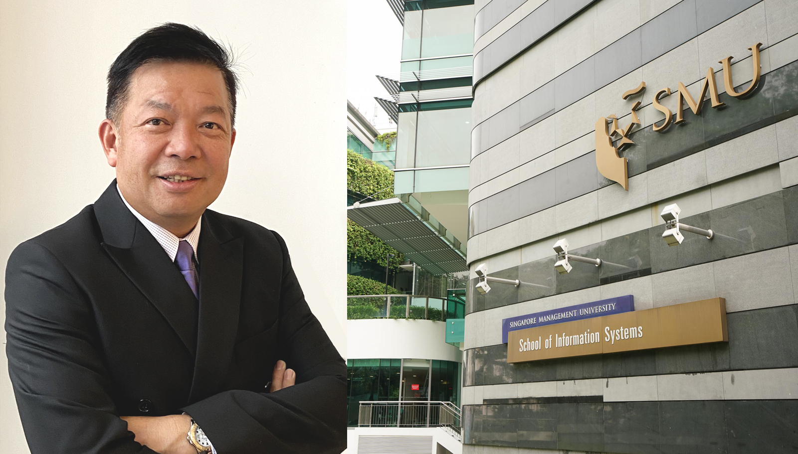 School confers title in recognition of Mr Yap's significant contributions